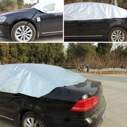 Pełne samochodów pokrowce pyłoszczelna na zewnątrz kryty UV odporny na śnieg ochrona przed słońcem poliester pokrywa uniwersalna|Pokrowce na samochód|   -