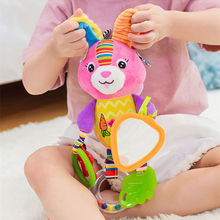 Plush Baby Rattles Mobile Toys Stroller Hanging Toy Soft Cute Animal Doll Educational Baby Crib Bed Hanging Bells Toys Rabbit baby kids rattles toys cotton stroller pram crib hanging soft plush toys animal clip baby crib bed hanging bells toys for babies