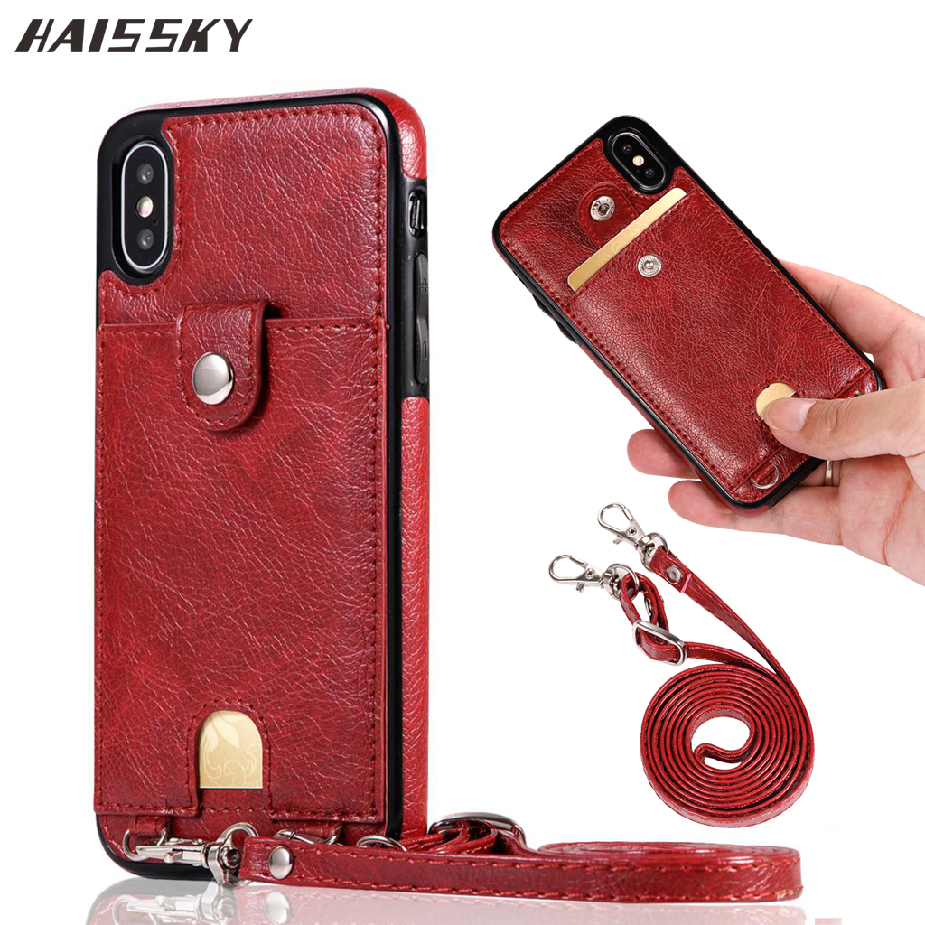 2019 New Leather Wallet Card Case For iPhone 7 8 Plus XR Back Cover Phone Case Shoulder Bag For iPhone XS Max 6 6s Plus X 10 2019 New Leather Wallet Card Case For iPhone 7 8 Plus XR Back Cover Phone Case Shoulder Bag For iPhone XS Max 6 6s Plus X 10