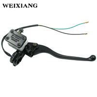 22mm Cable Hydraulic Brake Clutch Master Cylinder Reservoir Levers Universal Motorcycle ATV Motorbike Handle For Honda