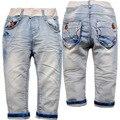 3864 мальчиков джинсы детские брюки для мальчиков весна или осень брюки дети джинсы детские мягкие джинсовые светло-голубой 2016 новый