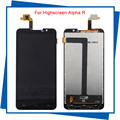 Para Highscreen Alpha R Display LCD + Touch Screen Digitador Assembléia envio Top Quality NEW Grátis