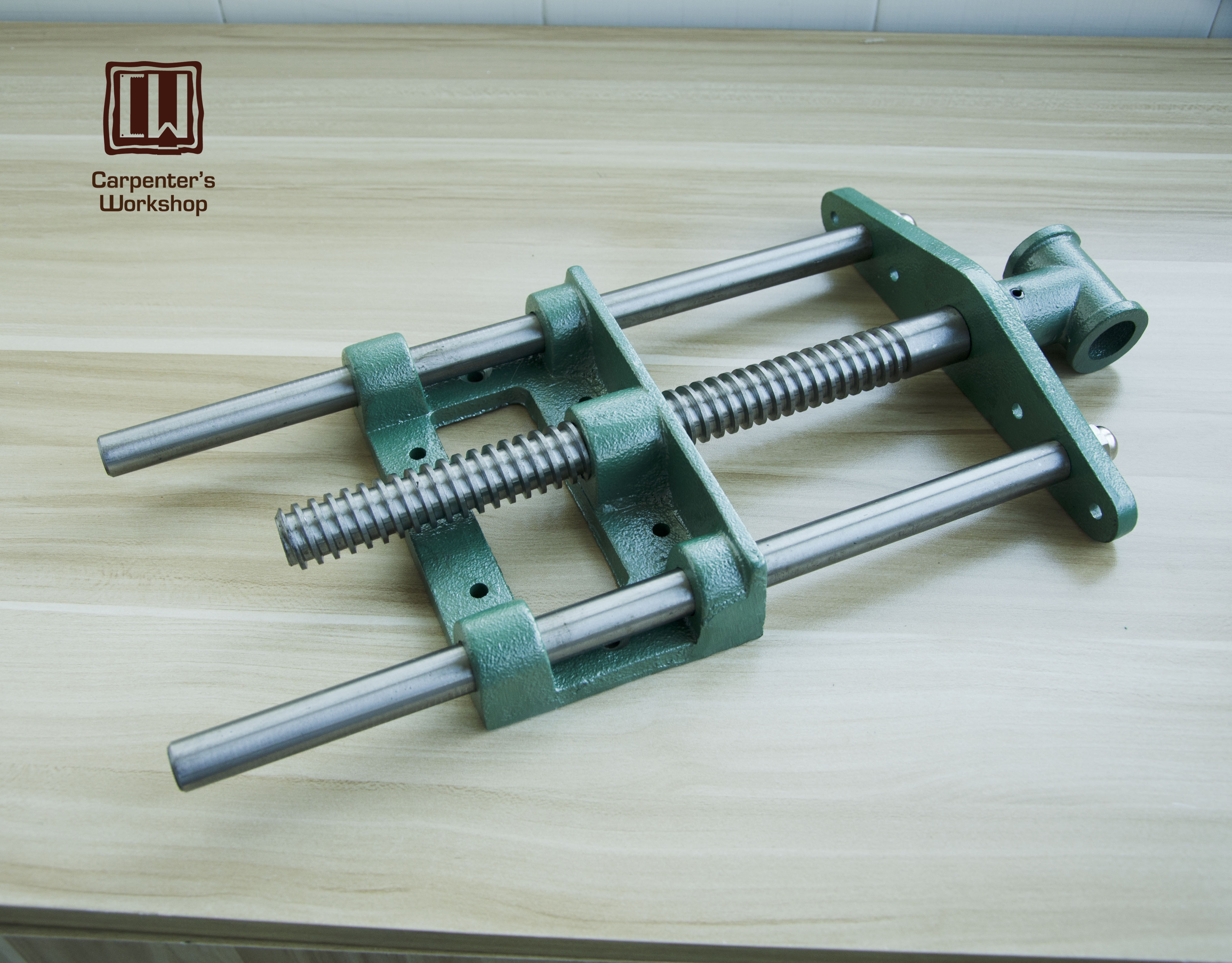 "Guide bar woodworking clip 10.5"" Jaw wide hand screw clamp woodworking vice-in Hand Tool Sets from Tools    1"