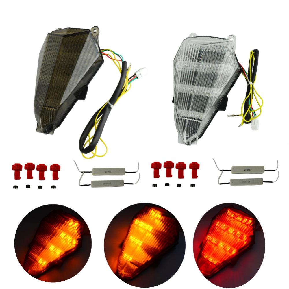 YAMAHA YZF-R6 2006 LED REAR LIGHT WITH BUILT IN INDICATORS
