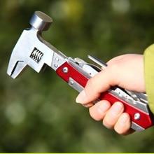 Красные многофункциональные плоскогубцы из нержавеющей стали hammer take+ 6 отверток лезвия