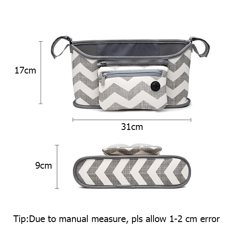 Baby Stroller Bag Organizer Toddler Nappy Diaper Bags Multifunction Stroller Holder Mummy Bag For Baby Care Accessories BB5100 (7)