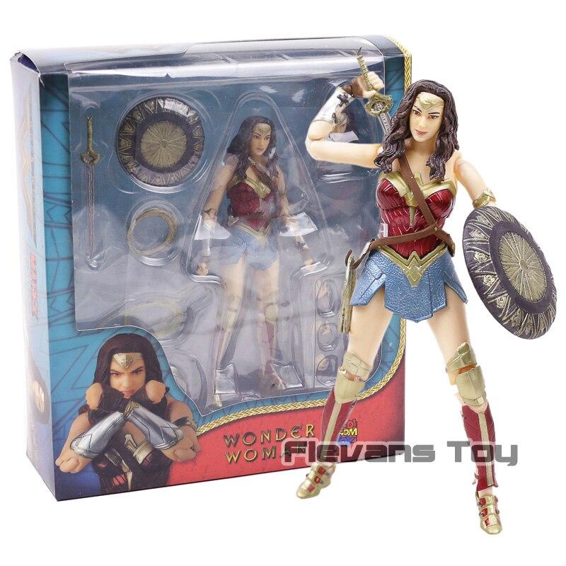 DC Comic Book Hero Justice League Wonder Woman Action Figure PVC Toy