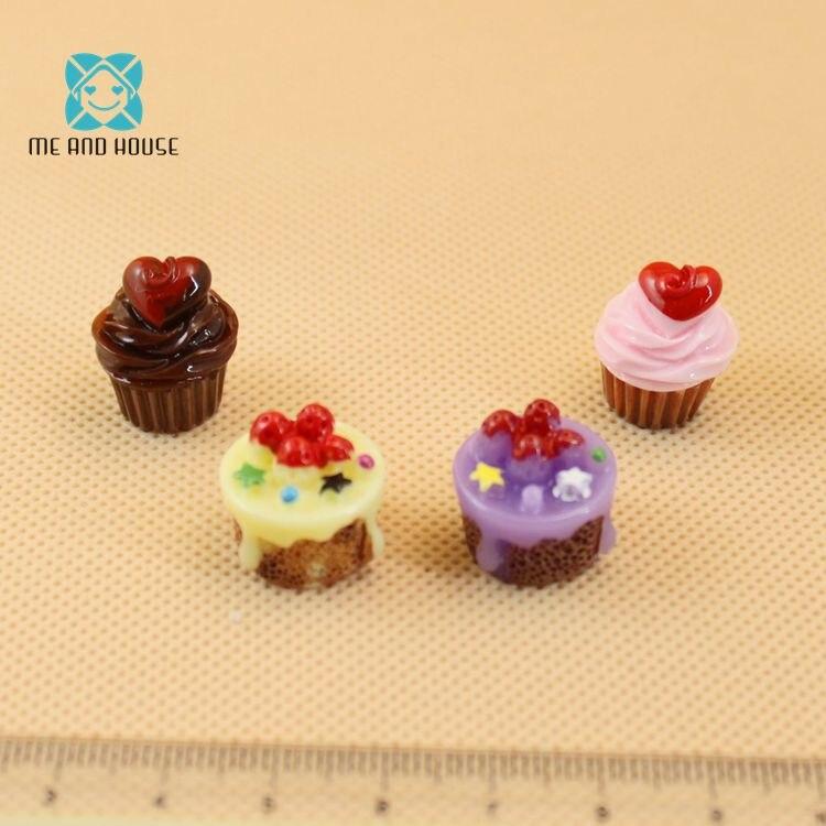 1:12 Scale Dollhouse Miniature Food Kitchen Toy Cake Doll Mini Cupcake