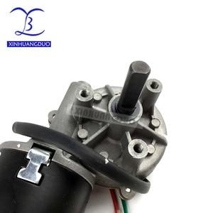 Image 5 - 30rpm 50rpm 100rpm GW6280 DC 24v high torque worm gear reducer motor Min Worm Gear Motor wiper barbecue grill motor turn right