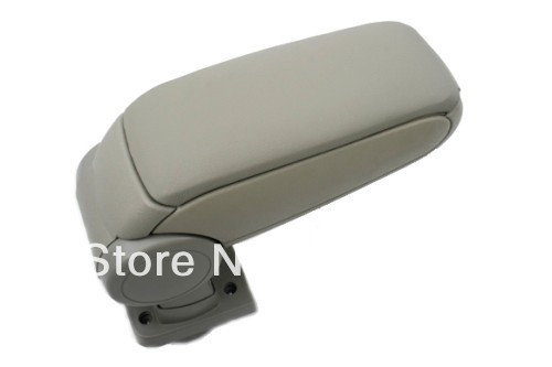 Center Console Armrest (Leatherette Beige) For Peugeot 307 2004-2011