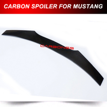 FOR MUSTANG 2015 2016 CARBON REAR WING SPOILER TRUNK SPOILER