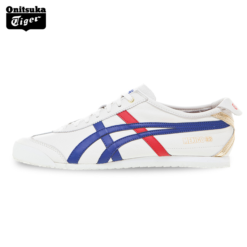 2017 ONITSUKA TIGER MEXICO 66 Men's Shoes Sneakers Breathable Leather Woman Sport Shoes Lightwei Trainers Athletic Shoes D507L 2017brand sport mesh men running shoes athletic sneakers air breath increased within zapatillas deportivas trainers couple shoes