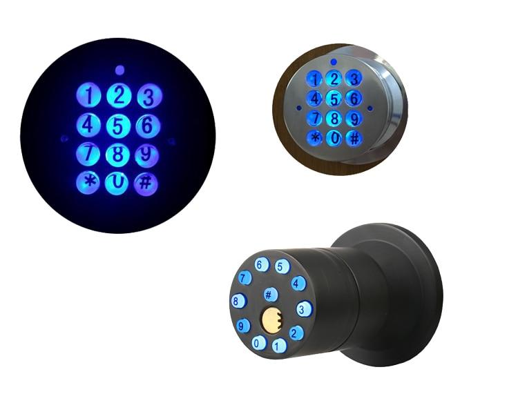 RAYKUBE Knob Digital Code Electronic Door Lock Bluetooth APP Password Keyless Opeing Enter Smart Live Waterproof IP65