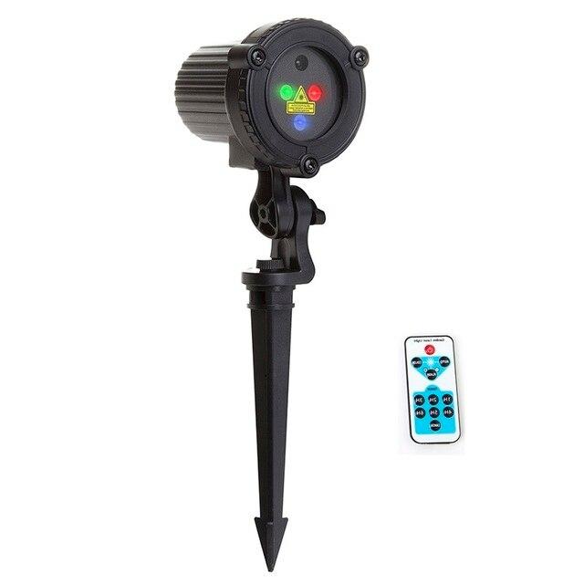 rgb laser projektor fernbedienung statische stern punkte licht garten im freien wasserdichte ip65 fr weihnachtsbaum weihnachten - Licht Dusche Ip