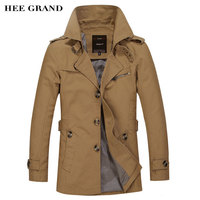 Men S Long Stretch Fashion Overcoat Comfortable Material Turn Down Collar 2016 New Arrival Autumn And