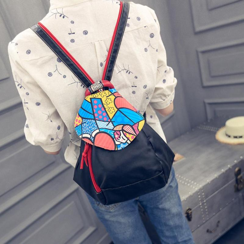 2 Ways Using Soft PU Leather Backpacks Travel Shoulder Women Rucksacks Girls Small School Bagpack Women Back Pack