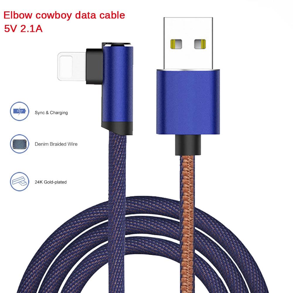 Unter Der Voraussetzung Ellenbogen Cowboy Geflochtene Gold-Überzogene Stecker Schnelle Ladung Datenkabel Micro Usb Kabel Für Iphone Xiaomi Huawei Usb Ladegerät
