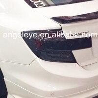 Для Honda 2012 до 2013 года для Civic светодиодные задние дым черный Цвет lf