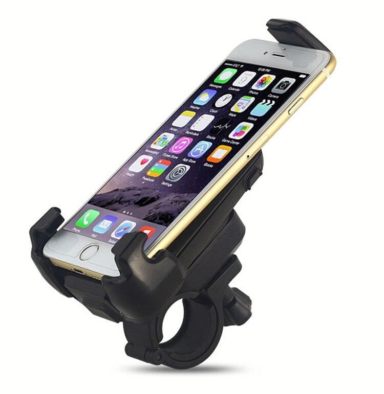 Giratorio ajustable soporte para teléfono celular móvil para bicicleta del monta