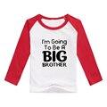 Мальчик бейсбол прохладный футболки дети длинный хлопок наряды девушки реглан персонализированные рубашки большой брат