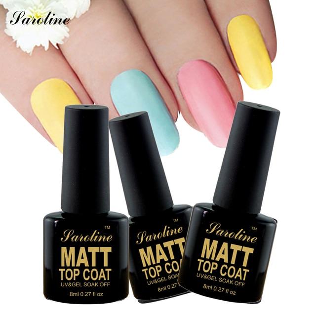 Luxury Clear Matte Top Coat Nail Polish Elaboration - Nail Paint ...