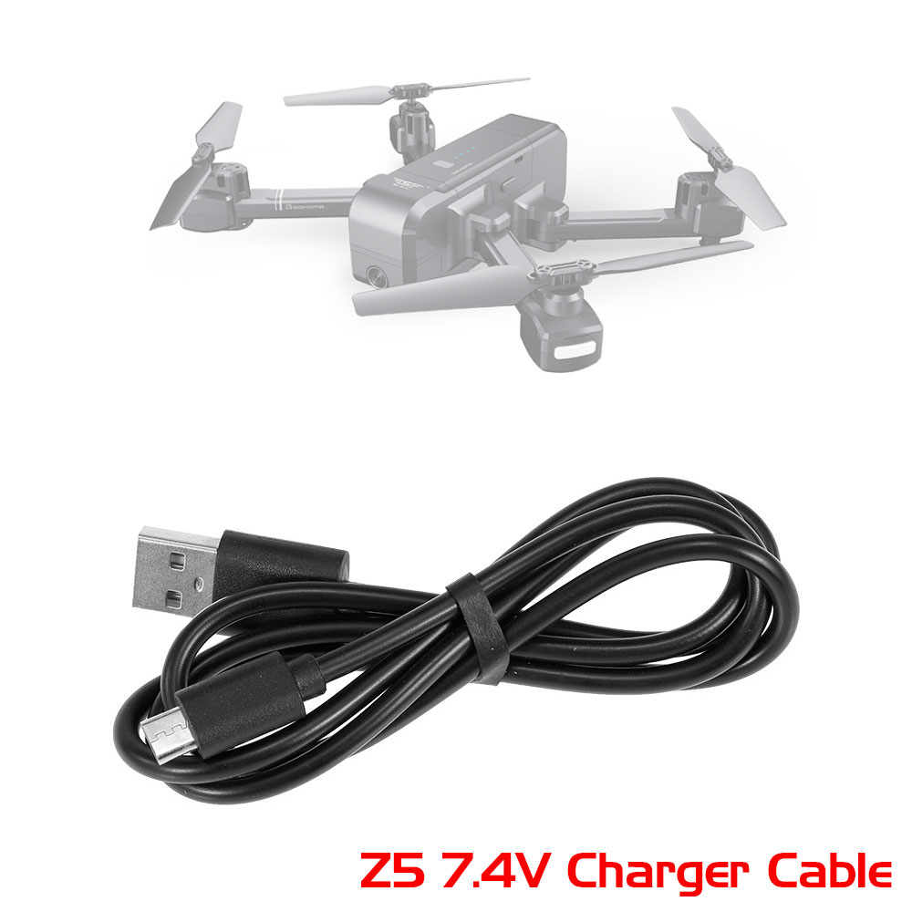 Original Rc Drones Battery Charger Usb Charging Cable 7 4v