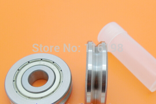 V6000ZZ V6000 2RS 6000ZZ 6000 V Groove pulley ball bearings 10X30X8 mm Track guide roller bearing