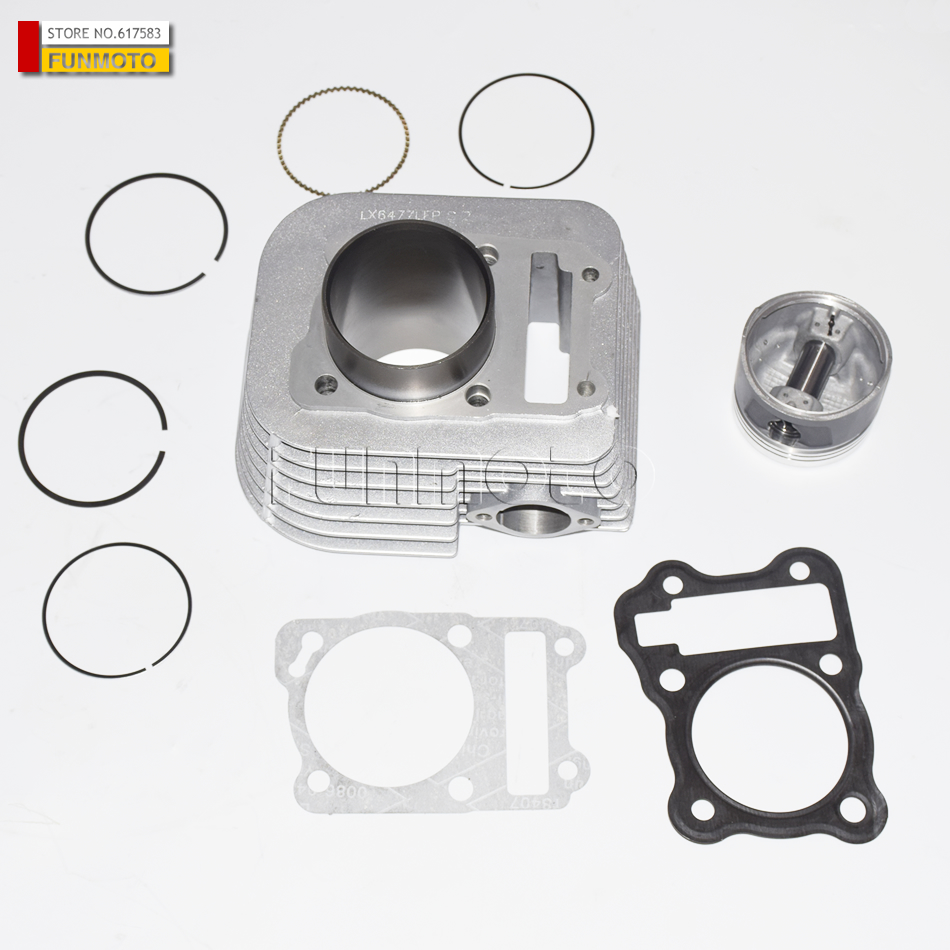 cylinder/piston/rings/pin/circlips/gaskets suit for  LONCIN 200 ATV/LX200-M-AU ATV200/LX200 ATV  piston piston pin piston rings circlip suit for hisun 700cc hs700 atv engine parts