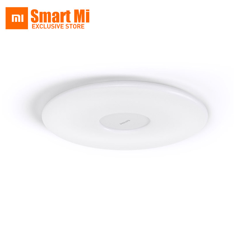 Xiaomi Mijia original Lámpara de techo Color y brillo Control remoto por WiFi Temperatura y humedad Sensor Ultra delgado Diseño