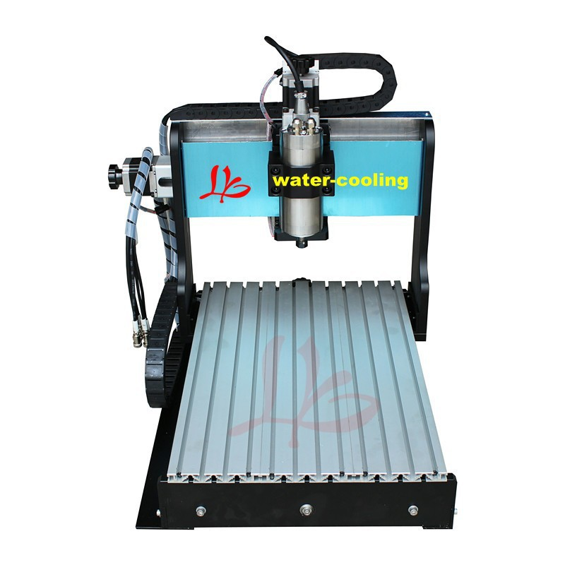 No tax free Ship from CN! milling machine engraver cnc 4 Axis CNC Router 6040Z-S stone carving machine 800W with limit switch russia no tax best water jet cutting machine price stone 4aixs cnc router 6040 z s 800w water cooled with limit switch