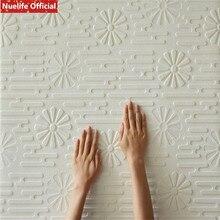 4pcs Plant sun light pattern 3d wall stickers kids room TV background living bedroom soft bag self-adhesive wallpaper