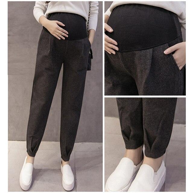 c3bf35517 Legging barriga Gravidez Grávida Roupa Mulheres Sport Calças Moda Calças  Confortáveis M-2XL Adequado Para