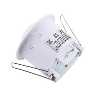 PIR Motion Sensor Detector Infrared Home Office 220V 360 Degree Light Switch