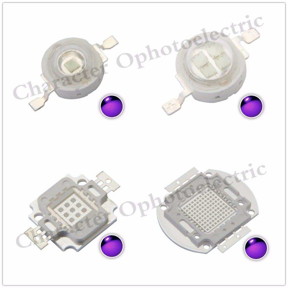 LED UV Purple LED integrated chips 365 375 385 395 405 425NM High Power COB Ultraviolet Lights 3/5/10/20/30/50/100 Watt