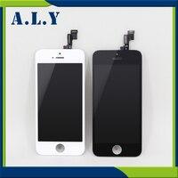 30 개/몫 새로운 브랜드 aaa 품질 iphone 5 s lcd 100% 좋은 작업 디지