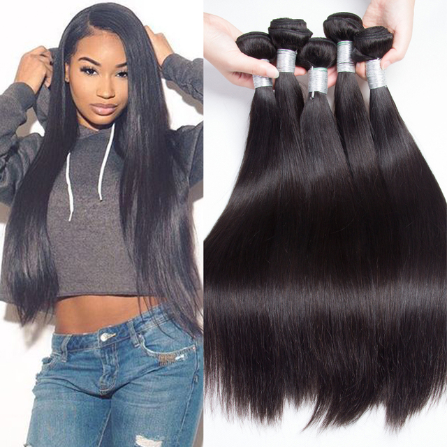 Aliexpress buy lemoda hair products 7a brazilian virgin hair lemoda hair products 7a brazilian virgin hair straight 4pcslot human hair weave unprocessed virgin pmusecretfo Choice Image