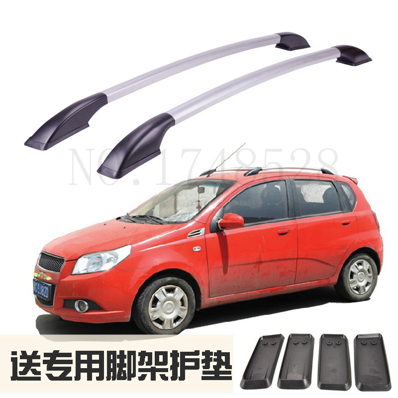 Auto parts Refitting the roof rack of aluminum alloy luggage rack for chevrolet aveo 1.3M Accessories молдинги in the morning auto parts 2014 14 12