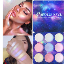 цена Professional Highlighter Eyeshadow Palette Pallete Starry Sky Series Powder Brighten Shimmer Glow Kit Makeup Pallete Maquiagem в интернет-магазинах