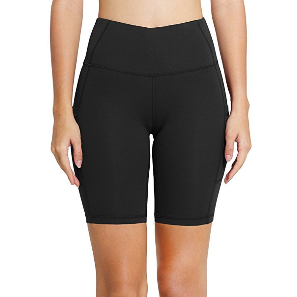 Vindingrijk Yoga Shorts Vrouwen Workout Out Pocket Leggings Fitness Sport Gym Running Yoga Atletische Shorts Push Up Fitness Kleding Gym Mujer Fijn Vakmanschap