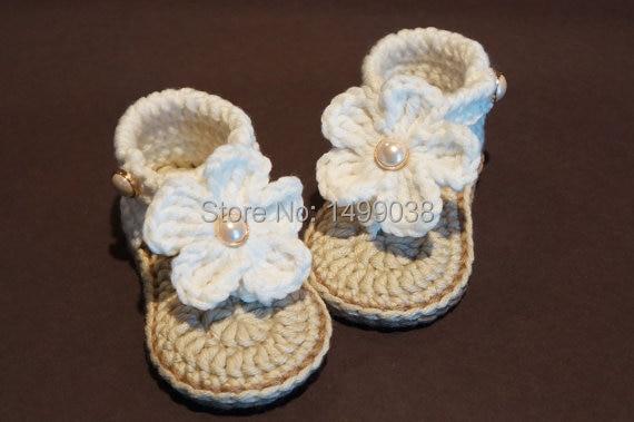 Baby Mädchen Schuhe Häkeln Baby Sandalen Häkeln Baby Flip Flops