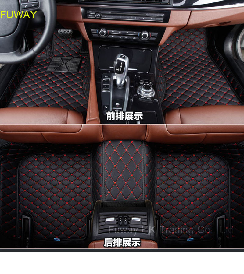 Good quality Custom fit car leather floor mats for  Hyundai Tucson 2011-2016 3D car-styling carpet liners car accessories free shipping leather car floor mat carpet rug for hyundai elantra avante i35 fifth generation 2011 2015