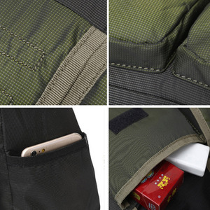 Image 5 - Men Army Messenger Bag Waterproof Nylon Satchel Shoulder Bag Casual Travel Crossbody Bags For Male Belt Handbag Man XA167ZC