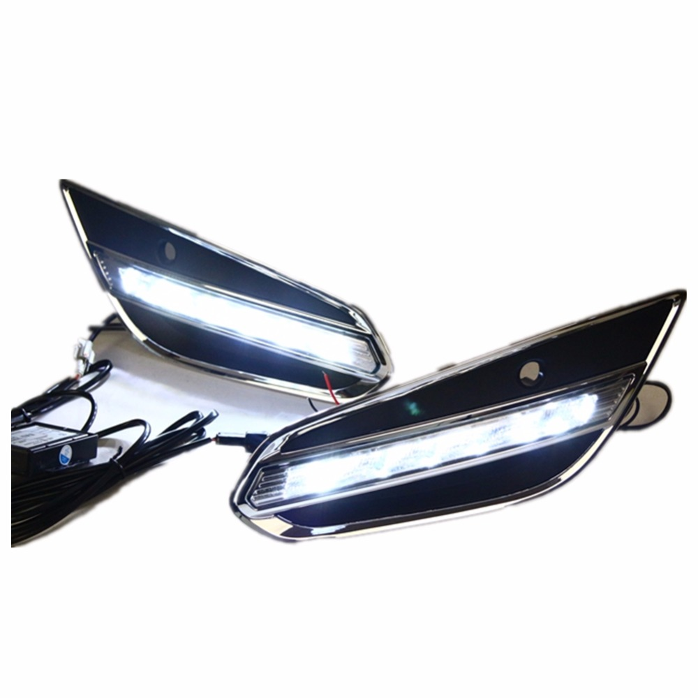 Светодиодные DRL фары дневного света для Вольво S60 2009-2013