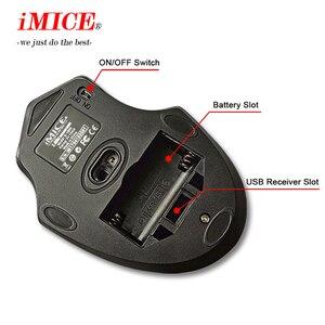 Image 5 - IMICE אלחוטי עכבר 2000DPI מתכוונן USB 3.0 מקלט אופטי מחשב עכבר 2.4GHz ארגונומי עכברים למחשב עכבר