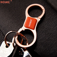 Christmas Gift Auto Key Ring Holder High End Car Styling Upscale Keychain For Land Rover Mitsubishi