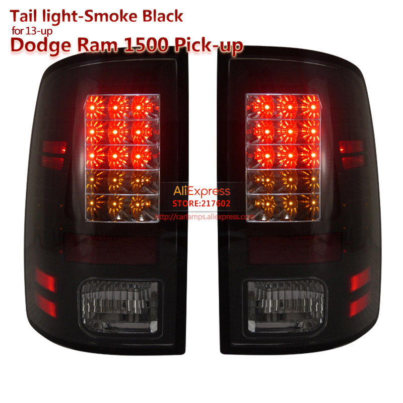 SONAR brand for Dodge Ram 1500 Pick Up Led Tail light Assembly fit 2013-up cars original with LED turn light xyivyg 02 08 for dodge ram chrome 1500 2500 3500 hd mirror 4 door handle tailgate abs cover