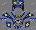 0043 New 3M DECALS STICKERS GRAPHICS For YAMAHA BLASTER YFS 200 1988-2006 star
