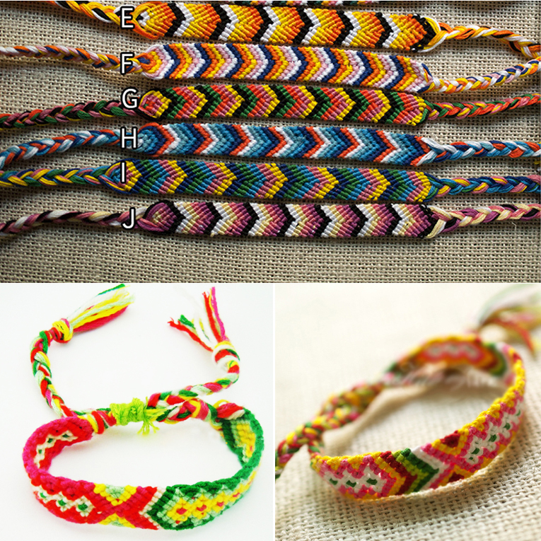 Positive Vibes Friendship Bracelets