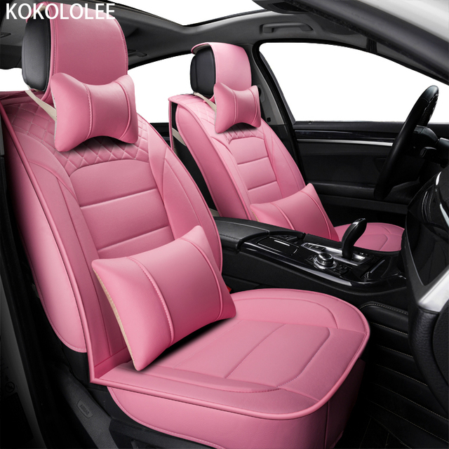 Kokololee Pu Leather Car Seat Covers For Chevrolet Lacetti Subaru Forester Freelander 2 Peugeot