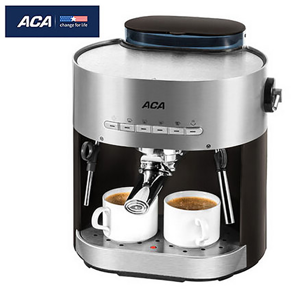 все цены на ACA Semi-automatic Coffee Maker Machine AC-E15B for Household Commercial Espresso Cappuccino Latte Maker Automatic Filtering онлайн